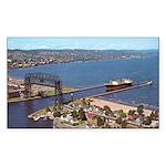 Duluth Harbor Rectangle Sticker 50 pk)