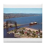 Duluth Harbor Tile Coaster