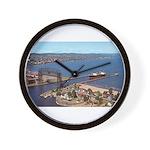 Duluth Harbor Wall Clock