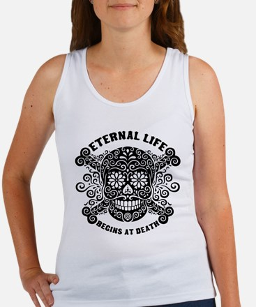 Eternal Life begins Women's Tank Top