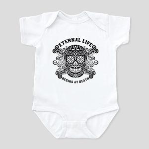 Eternal Life begins Infant Bodysuit
