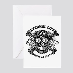 Eternal Life begins Greeting Cards (Pk of 10)