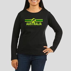 Australia Sv Design Women's Long Sleeve Dark T-Shi