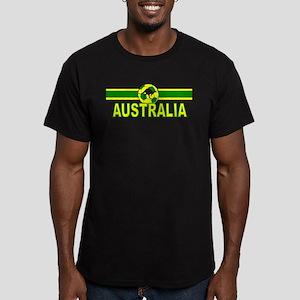 Australia Sv Design Men's Fitted T-Shirt (dark)