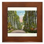 Echo Trail Framed Tile
