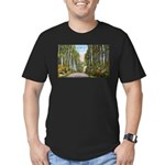 Echo Trail Men's Fitted T-Shirt (dark)