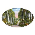 Echo Trail Sticker (Oval 50 pk)