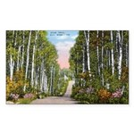 Echo Trail Sticker (Rectangle 50 pk)