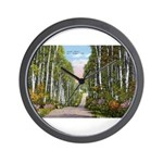 Echo Trail Wall Clock