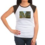 Echo Trail Women's Cap Sleeve T-Shirt