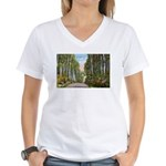 Echo Trail Women's V-Neck T-Shirt