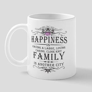 Happiness Family Crest Mug