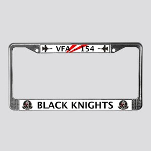 VFA-154 Black Knights License Plate Frame