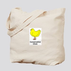 Conservative Chick Tote Bag
