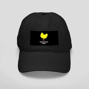 Conservative Chick Black Cap