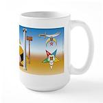 Brotherhood 15 Oz Ceramic Large Mug Mugs