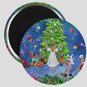 Nutcracker Christmas Ballet Magnet