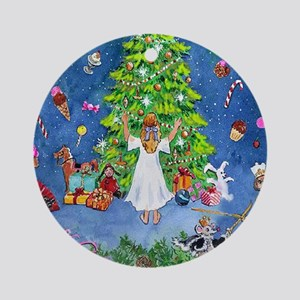 Nutcracker Christmas Ballet Ornament (Round)