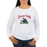 Scooter Trash Women's Long Sleeve T-Shirt