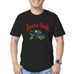 Scooter Trash Men's Fitted T-Shirt (dark)