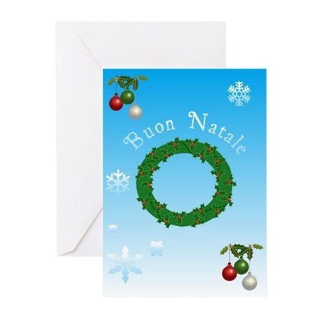 Italian Christmas Cards Greeting Cards (Pk of 10)