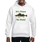 "Genuine Walleye ""It's Time to Fish"" Hood"