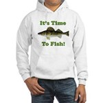 "Genuine Walleye ""It's Time to Fish"" Hood"
