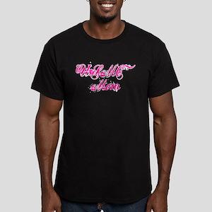 USMC MOM (2) Men's Fitted T-Shirt (dark)