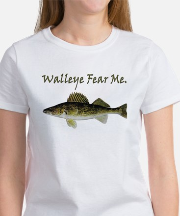Walleye Fear Me Women's T-Shirt