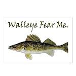 Walleye Fear Me Postcards (Package of 8)