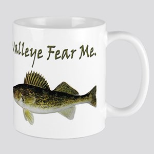 Walleye Fear Me Mug