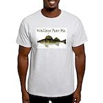 Walleye Fear Me Light T-Shirt