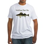 Walleye Fear Me Fitted T-Shirt