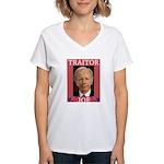 Traitor Joe Women's V-Neck T-Shirt