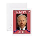 Traitor Joe Greeting Card