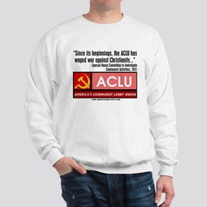 ACLU: War On Christ Sweatshirt