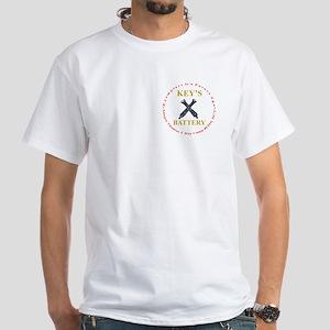 Logo & Flag White T-Shirt