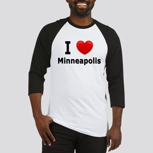 I Love Minneapolis Baseball Jersey