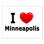 I Love Minneapolis Small Poster