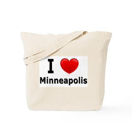 I Love Minneapolis Tote Bag