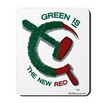 Green is the New Red Mousepad
