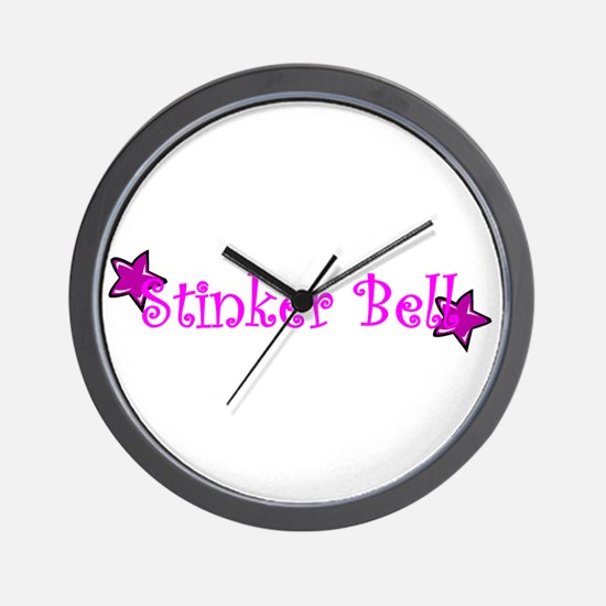 Stinker Bell Wall Clock