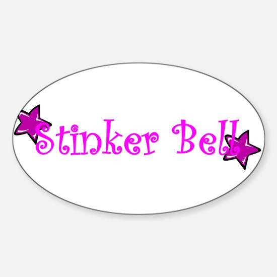 Stinker Bell Oval Decal
