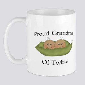 Proud Grandma Of Twins Mug