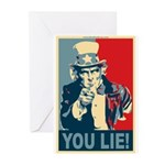 You Lie! Greeting Cards (Pk of 20)