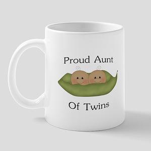 Proud Aunt Of Twins Mug