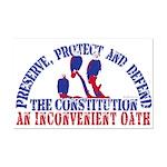 Defend the Constitution Mini Poster Print