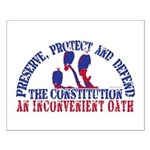Defend the Constitution Small Poster