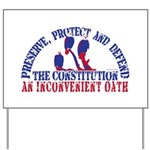 Defend the Constitution Yard Sign
