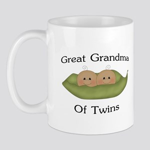 Great Grandma Of Twins Mug